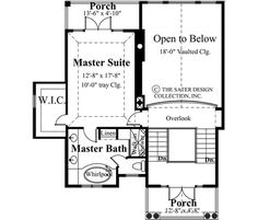 This charming cottage, the Santa Rosa house plan evokes a bygone era with fresh white shutters and periwinkle blue siding. It has 1978 sq.ft. of living area