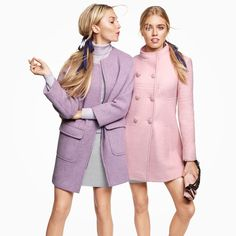 The Pastels: Soft hues that are Fall weather worthy! Get ready for Fall with Amazon #Fall2014 #AmazonFashion #VOGUE.  The newest coat fashions.