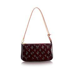 1a470b819 Pochette Accessoires - Monogram Vernis Leather - Amarante-Handbags | LOUIS  VUITTON $760 Louis Vuitton