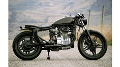 Garrett Dietz' 1979 Honda CX 500, a Nice and Clean Old Cafe-Racer