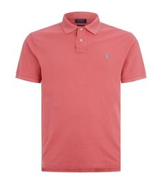 b8183fba90dd3 Polo Ralph Lauren Cotton Piqué Polo Shirt available to buy at Harrods.Shop  clothing online