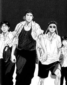 Anime Art Girl, Manga Art, Manga Anime, Comic Manga, Manga Comics, Kuroko, Akiba Kei, Slam Dunk Manga, Inoue Takehiko