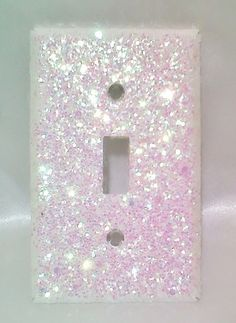 GOLD...Bling White Opalescent Glitter Light Switch Plate Cover Single Toggle | eBay