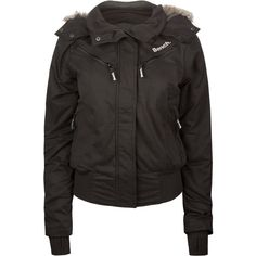 BENCH Tiny Tim Womens Hooded Puffer Jacket