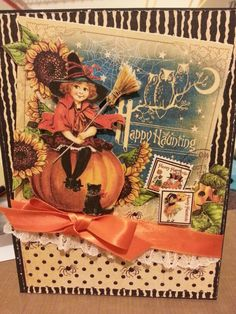 G 45 Halloween card