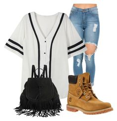 """""""5 out of 125"""" by jerricalatrellpetter ❤ liked on Polyvore featuring Timberland"""