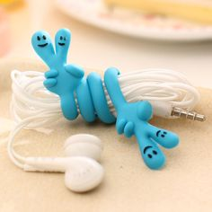 Digital Cables Hottest 1pc Cute Cartoon Dog Bone Cord Cable Wrap Manage Headphone Earphone Winder Cable Organizer Protector Holder Drip-Dry Accessories & Parts