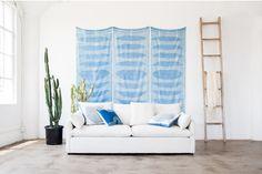 Capsule x Block Shop // Block Shop Wall Hangings and our Cameron Sofa