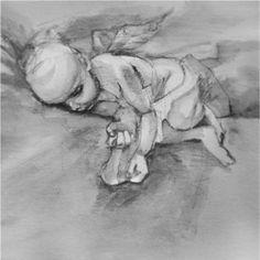 Cherubim...in progress #graphite #sketch #littleangel Cherub, Gouache, Graphite, Street Art, Sketch, Ink, Painting, Graffiti, Sketch Drawing