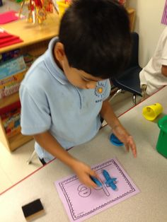 Play-doh Sight Words: love this!