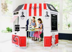 Enter the Little Play Spaces French Cafe Really Big Holiday Giveaway  #thedesignconfidential