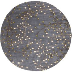 8' Round ATH-5125 - Surya | Rugs, Pillows, Wall Decor, Lighting, Accent Furniture, Throws