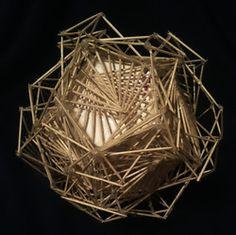 Toothpick Sculpture galleonscott weaver - toothpick sculpture | fejs | pinterest