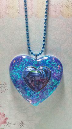 Blue Sparkly Necklace