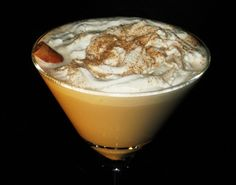 Pumpkin Spice Latte Martini. I'm thinking you may want to try this little gem kids:) Coziness in a glass:)