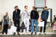 Spring street trend 2015 men, women | Men's Fashion Week Spring 2015 Street Style - Paris Men's Fashion ...