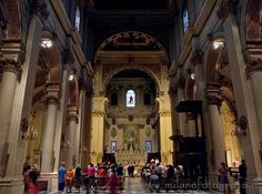 Interior of the Duomo of Lecce (Italy). Visit the website for other pictures!