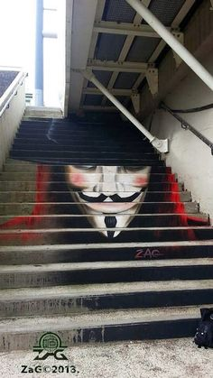 mazing stairs street art around the world, Brest France