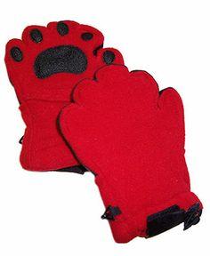 BearHands Kids Gloves, Boys or Girls Fleece Convertible Mittens - Kids Baby Girl (0-24 months) - Macy's
