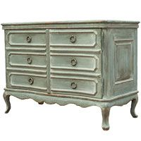 French Grey Sage Farmhouse Sideboard