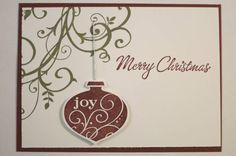 barouque christmas by DoggieMommy - Cards and Paper Crafts at Splitcoaststampers