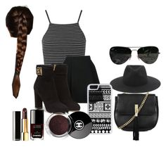 """Untitled #20"" by blackmoondust ❤ liked on Polyvore featuring Topshop, Avelon, Salvatore Ferragamo, rag & bone, CellPowerCases and Ray-Ban"