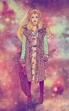 completely awesome: She-Ra goes vintage.