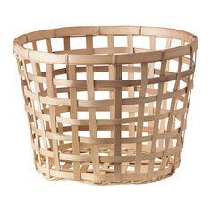 """GADDIS Basket - natural, 12 5/8 """" - IKEA"""
