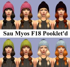 Mod The Sims - Sau MYOS F18 Pooklet'd