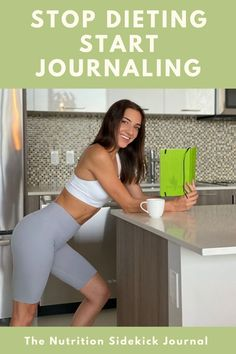 The Nutrition Sidekick Journal is your research-based book, journal, and coach all in one.Fully customizable to work with ANY eating style.Plan out what you want to eat each day, then record what you ACTUALLY ate to get held accountable.New tips, mindsets, and challenges every day to ultimately get you HAPPY with your body and to stick with your plan. Journal Writing Prompts, Book Journal, Healthy Eating Guide, All In One, You Got This, Thick And Fit, Daily Challenges, Incredible Recipes, Guided Meditation