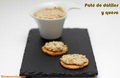 Paté de dátiles y queso azul - http://www.thermorecetas.com/2013/07/30/pate-de-datiles-y-queso-azul/