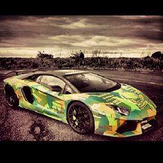 Crazy Camo Oakley Designed Lamborghini Aventador LP760-4