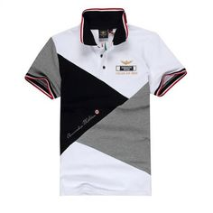 Polo Rugby Shirt, Polo Shirt White, Polo T Shirts, Men's Polo, Polo Shirt Design, Polo Design, Polo Ralph Lauren Outlet, Vintage Mens T Shirts, Bowling Shirts