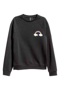 Sweat-shirt avec motif | H&M