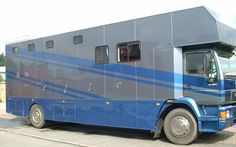This 18 tonne 1997 MAN 18.224 #horsebox carries up to five horses | For sale on #HorseDeals