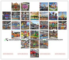 China amusement park rides manufacturer Sinorides-Kiddie rides, family rides and thrill rides for sale