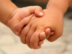 Love is as simple as children holding hands...