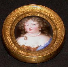 Madame de Montespan, 17th C by Jean Petitot