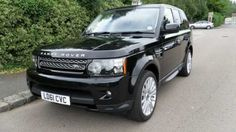 2011 Range Rover Sport 3.0 SDV6 HSE 5-door auto estate. Sumatra Black with Ebony interior. FSH.