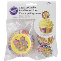 Wilton 415-3132 24 Count Summer Baking Cup and Picks Set, Assorted *** Remarkable product available