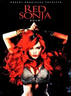 Red Sonja. Promotional art for the Robert Rodriguez movie originally intended for 2009 (I'm thinking this is Rose McGowan)