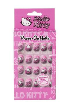 Hello Kitty 20 Decorative Press On Nails for Kids (Random Style/Color) Hello Kitty Accessories, Diy Hair Accessories, Christmas Gifts For Girls, Birthday Gifts For Girls, Fake Nails For Kids, Jojo Siwa Hair, Chloe Nails, Disney Princess Nails, Baby Alive Doll Clothes