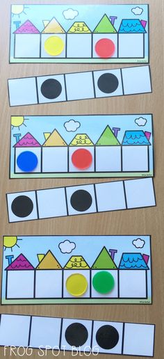 Learning numbers on the five frame - subitizing - counting - numbers - math…