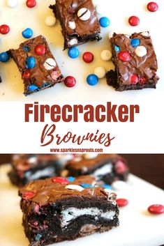 Firecracker Brownies