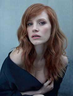 Jessica Chastain, amazing in Crimson Peak, and BEST FRIENDS WITH OSCAR ISAAC. Plus she had a slumber party with Tom Hiddleston , so like, wow woman way to win at EVERYTHING ♡♡♡
