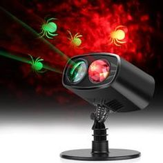 LED Light Projector,Waterproof Adjustable LED Landscape Lights Halloween Decorations Waterproof Outdoor Indoor Party Light with Spider Pat Indoor Christmas Lights, Decorating With Christmas Lights, Holiday Lights, Christmas Decorations, Outdoor Christmas, Christmas Ideas, Christmas Gifts, Boutique San Francisco, Night Light Projector