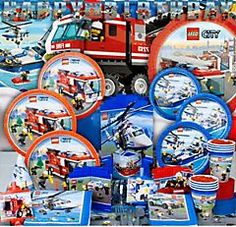Lego birthday party supplies