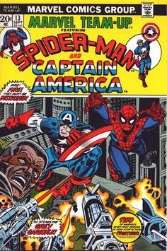 Marvel Team-Up 13 - Gil Kane cover