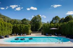 Graham and Co. hotel pool - Phoenicia