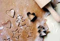 Gluten-Free Gingerbread Cookies with Pumpkin Fluff - Kelly Hughes Roberts Bite Size Desserts, Desserts To Make, Gluten Free Gingerbread, Gingerbread Cookies, Desserts With Biscuits, Just Cakes, Christmas Cooking, Vegan Christmas, Biscuit Cookies